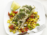 Foil-Packet Fish With Corn Relish