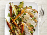 Skillet Turkey With Roasted Vegetables