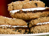Fluffy Oatmeal Raisin Sandwich Cookies