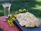 Corn Flour Lemon Cookies