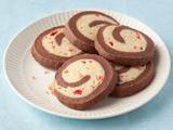 Chocolate Peppermint Pinwheel Cookies