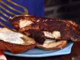 Blackened Tilapia Sandwiches with Cilantro-Lime Mayonnaise
