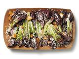 Caesar Salad With Red Romaine