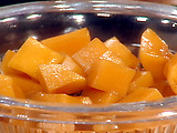 Pickled Butternut Squash with Sage and Cardamom