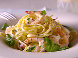 Linguine with Shrimp and Lemon Oil
