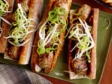 Asian Meatball Subs With Hoisin Mayonnaise