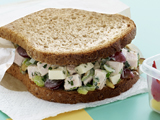 Crunchy Turkey Salad Sandwiches