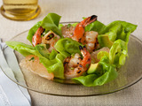 Spicy Shrimp and Avocado Salad with Grapefruit Dressing