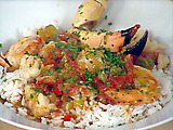 Lobster, Shrimp and Stone Crab Creole