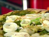 Veggie Pizza with Pesto
