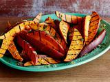Garlic and Herb Grilled Sweet Potato Fries