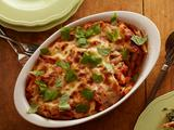 Cheesy Spinach Baked Penne