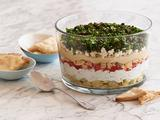 Seven-Layer Vegetarian Greek Dip