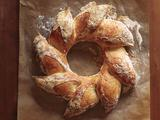 Holiday Bread Wreath