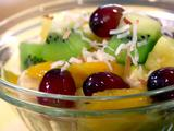 Tropical Fruit Salad with Honey and Lime