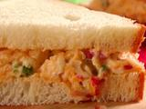 Smoky Pimento Cheese Sandwiches
