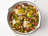 Skillet Hash and Eggs