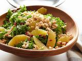 Kale Salad with Marcona Almonds and Sherry Vinaigrette