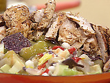 Grilled Chicken Posole Salad