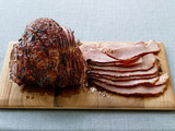 Fig-and-Orange-Glazed Ham