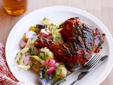Grilled Ginger-Beer Chicken
