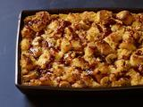 Salted Caramel-Banana Bread Pudding