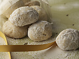Kourabiedes (Greece): Walnut Sugar Cookies