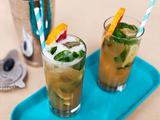 Blood Orange-Cinnamon Mojito