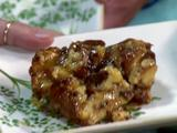 Chocolate Bread Pudding with Rum Toffee Sauce