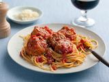 Spaghetti and No-Meat Balls