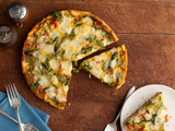 Frittata with Asparagus, Tomato, and Fontina