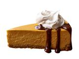 Pumpkin Cheesecake With Bourbon-Spiked Cream