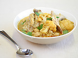 Slow Cooked Curried Chicken with Cauliflower