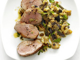 Pork Tenderloin with Eggplant Relish