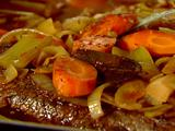 Brisket with Carrots and Onions