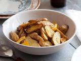 Healthy Roast Fingerlings with Lemon