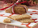 Ginger Pecan Oatmeal Crisps