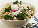 Whole-Wheat Pasta with Broccolini and Feta