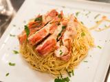 Chicken Saltimbocca with Brown Butter Angel Hair Pasta