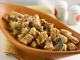 Sweet Potato Gnocchi with Maple Cinnamon Sage Brown Butter