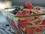 Ahi Poke and Seaweed Salad