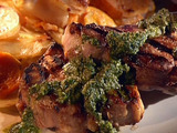Lamb Loin Chops with Mint Pesto