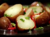Potato Salad with Roasted Red Peppers