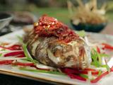 Stuffed Snapper Veracruz