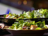 Family Favorite Salad with Homemade Ranch Dressing and Croutons