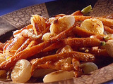 Roasted Carrots and Cippolini Onions