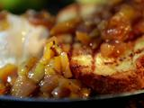 Grilled Caramel Apple Brioche Sundae