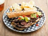 Grilled Lamb Sandwiches