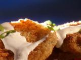 Fried Green Tomatoes with Horseradish Cream