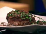 Tenderloin of Beef in Mushroom, Mustard and Red Wine Sauce